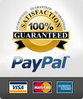 Paypal accepted payment methods: Visa, Mastercard, Amex, Discover