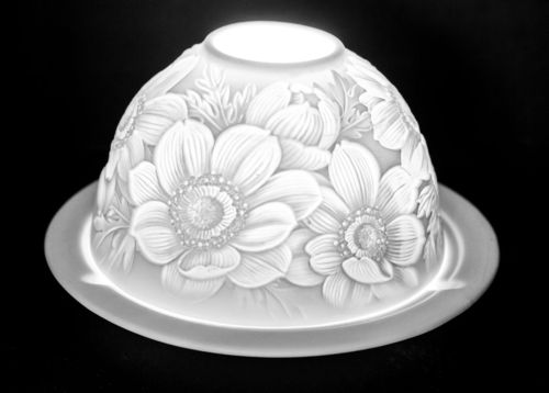 DAISIES DOME TEALIGHT (165235)