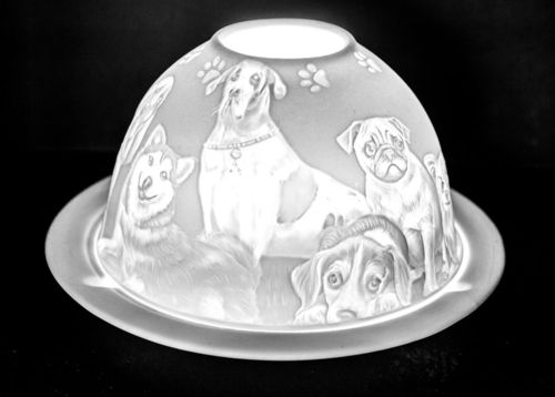 MANS BEST FRIEND DOME TEALIGHT (165239)