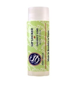Coconut-Lime Lip Balm, Soapwalla Kitchen