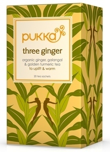 Three Ginger Tee, Pukka