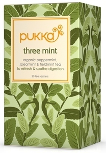 Three Mint Minze-Tee, Pukka