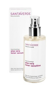 Aloe Vera Toner Sensitive 100ml, Santaverde