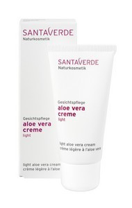 Aloe Vera Creme Light 30ml, Santaverde
