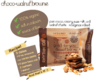 Choco Walnut Brownie Snack Bar Good-For-You 42g, Rhythm 108