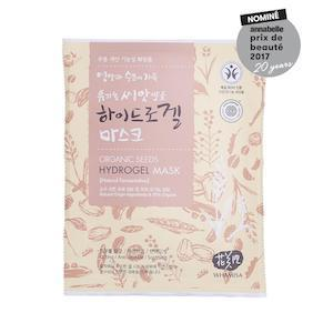Organic Seeds & Rice Hydrogel Mask 33g, Whamisa