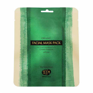 Organic Sea Kelp Facial Sheet Mask 33g, Whamisa