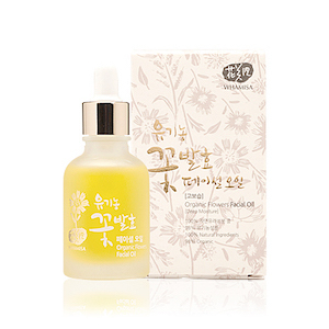 Organic Flowers Facial Oil 30ml, Whamisa