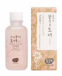 Organic Flowers Deep Rich Toner 120ml, Whamisa