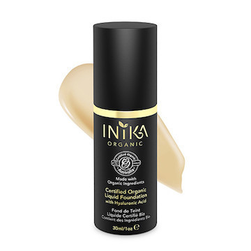 Liquid Foundation with Hyaluronic Acid, Inika