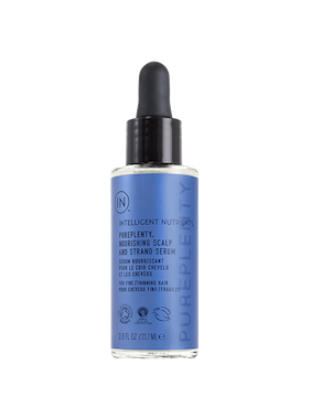 PurePlenty Nourishing Scalp and Strand Serum Travel Size 23.7ml, Intelligent Nutrients
