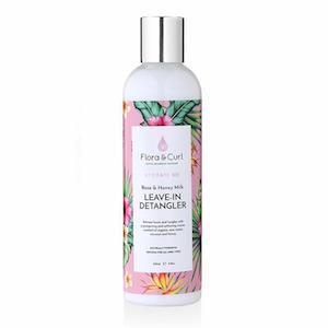 Organic Rose & Honey Milk Detangler 250ml, Flora & Curl