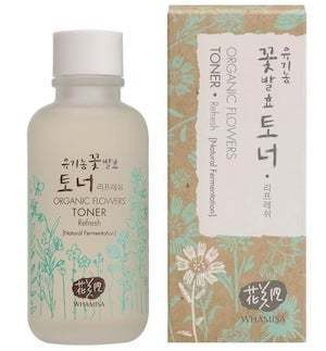 Organic Flowers Refresh Toner 120ml, Whamisa