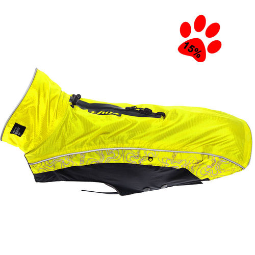 Dog raincoat Rainskin, yellow