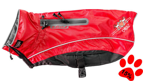 Insulated Jacket Snowskin, red