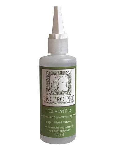 Disinfectant for ears Decalyte D, 100 ml