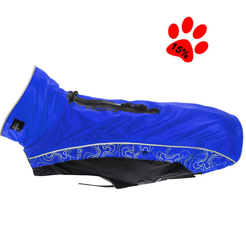 Dog raincoat Rainskin, blue
