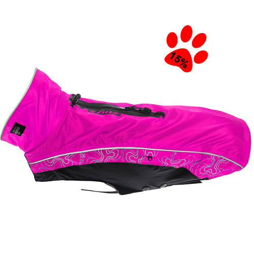 Dog raincoat Rainskin, pink