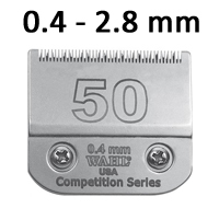 Testine WAHL Competition - 3 mm