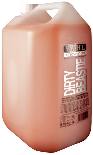 Shampoo WAHL Dirty Beastie 5 l (concentrate)