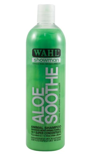 Shampoo WAHL Aloe Soothe 500 ml (concentrate)