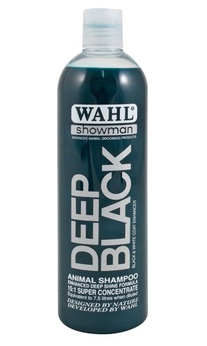 Shampoo WAHL Deep Black 500 ml (concentrate)