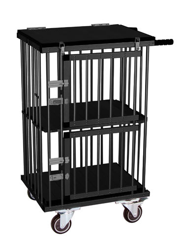 Cage pliable expo, 2 portes