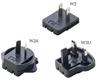 Changeable Plug SYS 1003-Plug-Set US/UK/AUS for SYS 1003-Serie