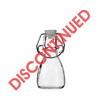REGENT MINI BELL SHAPED BOTTLE WITH CLIP-TOP LID (85ML) (53MM:DX110MM:H)