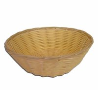 REGENT WOVEN BASKET ROUND HOLLOW CORD PP (230MM:DIAX70MM)