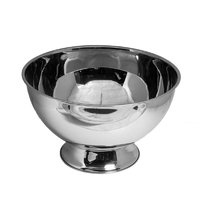 BAR BUTLER FOOTED CHAMPAGNE/ICE BOWL WITHOUT HANDLES S/STEEL 14L (355MM:DX230MM)