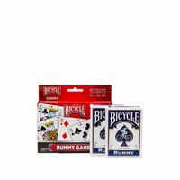 BICYCLE RUMMY GAMES, 2 PACKS OF CARDS