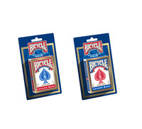BICYCLE CARDS BLISTER CARD, 1 PACK (RED & BLUE MIXED CASE)