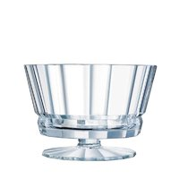 CRISTAL DARQUES MACASSAR FOOTED BOWL (2.75L) (225MM:DIAX156.5MM:H))