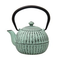 REGENT CAST IRON CHINESE TEAPOT PASTEL GREEN (500ML)