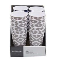 MELAMINE TUMBLER GREY WILD 450ML (82MM:DX120MM)