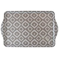MELAMINE SERVING TRAY GREY WILD (460X290X11MM)