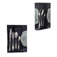 ST. JAMES CUTLERY KENSINGTON 16 PIECE SET IN CARDBOARD GIFT BOX
