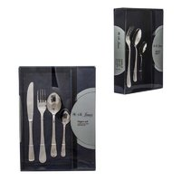 ST. JAMES CUTLERY OXFORD 16 PIECE SET IN CARDBOARD GIFT BOX