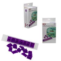 REGENT BAKEWARE LETTER/NUMBER PRESS 88 PIECE SET