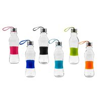 CONSOL GRIP N GO BOTTLE WITH STRAP LID IN ASSORTED COLOURS 500ML