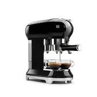 SMEG 50'S RETRO STYLE BLACK ESPRESSO COFFEE MACHINE