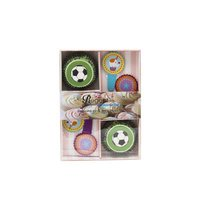 REGENT BAKEWARE BOYS DECOR COOKIE CUPS, 36 PIECE SET (140X195MM)