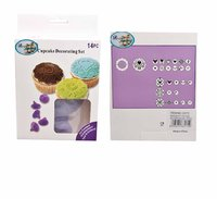 REGENT CUP CAKE DECORATING 14 PIECE SET