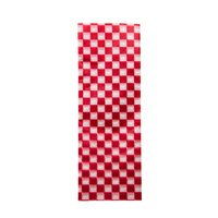 REGENT GREASEPROOF PAPER LINERS FOR BASKETS RED, 24 PIECES (305X305MM)