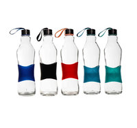 CONSOL GRIP N GO BOTTLE WITH STRAP LID IN ASSORTED COLOURS 1LTR