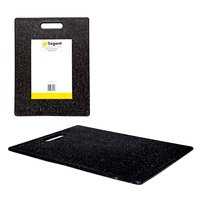 REGENT KITCHEN CUTTING BOARD BAMBOO FIBER/TPE BLACK WITH SPECKLES (360X275X8MM)